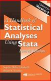 A Handbook of Statistical Analyses Using Stata, Rabe-Hesketh, Sophia and Everitt, Brian S., 1584887567