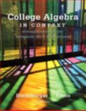 College Algebra in Context, Harshbarger, Ronald J. and Yocco, Lisa, 0321837568