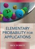 Elementary Probability for Applications, Durrett, Rick, 0521867568