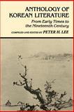 Anthology of Korean Literature, , 0824807561
