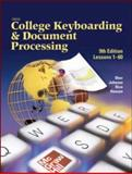 Gregg College Keyboarding and Document Processing (GDP), Lessons 1-60, Student Text 9780078257568