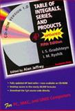 Table of Integrals, Series, and Products, Academic Press Staff, 0122947568