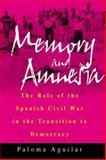 Memory and Amnesia, Paloma Aguilar, 1571817573