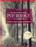 Fundamentals of Psychology in Context, Rosenberg, Robin S. and Kosslyn, Stephen Michael, 0205507573