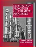 Elementary Principles of Chemical Processes, Felder, Richard M. and Rousseau, Ronald W., 047168757X