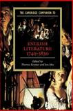 The Cambridge Companion to English Literature, 1740-1830, , 0521007577