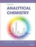 Analytical Chemistry, Christian, Gary D. and Dasgupta, Purnendu K., 0470887575