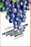 Methods Analysis of Musts and Wines, Ough, C. S. and Amerine, M. A., 0471627577