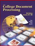 Gregg College Keyboarding and Document Processing (GDP), Lessons 121-180, Student Text, Ober, Scot and Johnson, Jack E., 0078257581