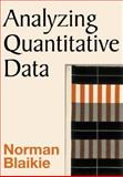 Analyzing Quantitative Data 9780761967583