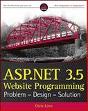 ASP.NET 3.5 Website Programming, Marco Bellinaso and Chris Love, 0470187581