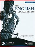 The English Legal System, Martin, Jacqueline, 1444107585