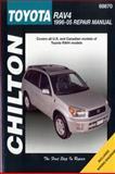 Chilton's Toyota Rav4, 1996-05 Repair Manual, Bob Henderson, 1563927594
