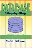 Database : Step-by-Step, Gillenson, Mark L., 0471617598