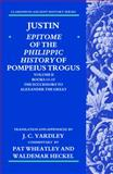 Justin : Epitome of the Philippic History of Pompeius Trogus - The Successors to Alexander the Great, , 0199277591