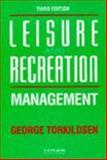 Leisure and Recreation Management, George Torkildsen, 0419167609