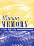 Human Memory, Radvansky, Gabriel, 0205457606