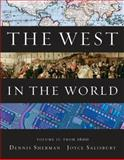 The West in the World from 1600, Sherman, Dennis and Salisbury, Joyce, 007736760X