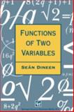 Functions of Two Variables, Dineen, S., 0412707608