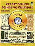 293 Art Nouveau Designs and Ornaments, Dover, 048699760X
