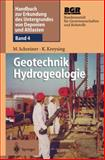 Geotechnik Hydrogeologie, Kreysing, Klaus, 3642637604