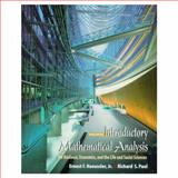 Introductory Mathematical Analysis for Business, Economics and the Life and Social Sciences, Haeussler, Ernest F. and Paul, Richard S., 0139157603
