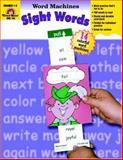 Sight Word Machines, Evan-Moor, 1557997608