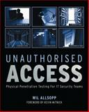 Unauthorised Access, William Allsopp, 0470747617