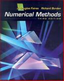 Numerical Methods, Faires, J. Douglas and Burden, Richard L., 0534407617