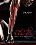Combo: Anatomy & Physiology: A Unity of Form & Function with MediaPhys 3. 0 Student 24 Month Online Access Card, Saladin, Kenneth, 0077867610