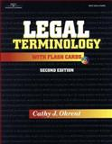 Legal Terminology with Flashcards, Okrent, Cathy J. and Mapstone, Wendy, 0766827615