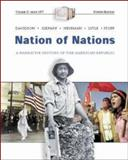 Nation of Nations : A Narrative History of the American Republic, Davidson, James West, 0072487615