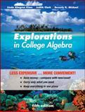Explorations in College Algebra, Clark, Judy and Kime, Linda Almgren, 047091761X
