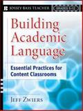Building Academic Language, Jeff Zwiers, 0787987611