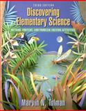 Discovering Elementary Science : Method, Content, and Problem-Solving Activities, Tolman, Marvin N., 0205337627