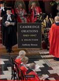 Cambridge Orations, 1993-2007, Anthony Bowen, 0521737621