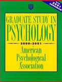 Graduate Study in Psychology, 2000 Edition : With 2001 Addendum, American Psychological Association Staff, 1557987629