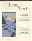 Leader to Leader (LTL), Summer 2006, Leader to Leader Staff and LeBoeuf, Joe, 078798762X