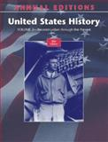 Annual Editions: United States History : Through the Present Reconstruction, Maddox, Robert, 0073397628