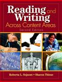 Reading and Writing Across Content Areas, Thiese, Sharon, 1412937620