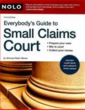 Everybody's Guide to Small Claims Court, Ralph Warner and Emily Doskow, 1413307620