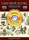 1,000 Heraldic Designs CD-ROM and Book, Thomas Robson, 0486997626