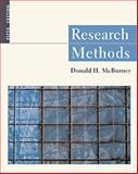 Research Methods, McBurney, Donald H., 0534577628