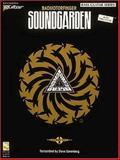 Soundgarden - Badmotorfinger, Badmotorfinger Song Book Bass Guitar Series with Tablature Transcribed by Steve Gorenberg, 0895247623