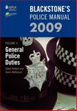 General Police Duties 2009, Hutton, Glenn and McKinnon, Gavin, 0199547637