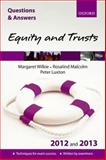 Q&A Equity and Trusts 2012 and 2013, Wilkie, Margaret and Malcolm, Rosalind, 0199697639