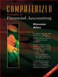 Computerized Principles of Financial Accounting, Klooster, Dale H. and Allen, Warren, 053888763X