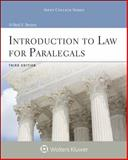 Introduction to Law for Paralegals, Bevans, Neal R., 0735587639