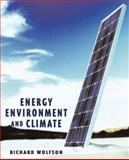 Energy, Environment, and Climate, Wolfson, Richard, 0393927636