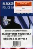 Blackstone's 2010, Smart, Huw and Watson, John, 0199577633